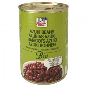 Organski azuki pasulj konzerva - 400g