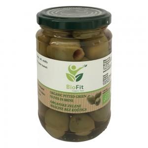 Organske zelene masline bez koštica - 280g
