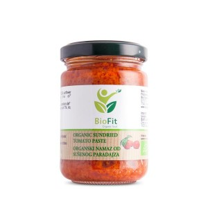 Organski Namaz od sušenog paradajza - 140g