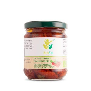 Organski sušeni paradajz u ulju - 190g