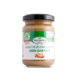 Organski Namaz od zelenih maslina - 140g