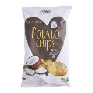 Organski čips natural ulje kokos - 100g