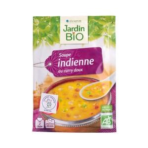 Organska indijska supa sa karijem