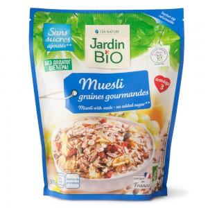 Organski Musli sa semenkama bez dodatka šećera - 375g