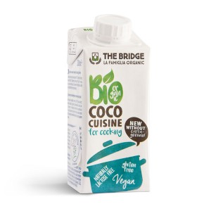 Orgasnki kokosov krem za kuvanje  250ml