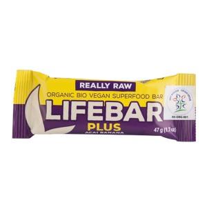 Organski Lifebar Plus Acai Banana 47g