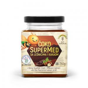 Organski super med lešnik kakao - 240g