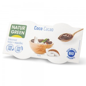 Organski kokos dezert čokolada - 2x125g