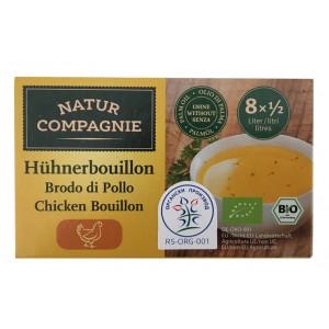 Organska kokošija kocka za supu - 88g