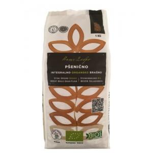 Organsko pšenično integralno brašno - 1kg