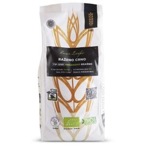 Organsko raženo crno brašno TIP 1250 - 1kg