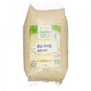 Organski beli pirinač dugo zrno - 1kg