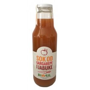 Organski sok šargarepa + jabuka - 0,75l