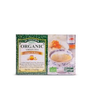 Organski čaj zeleni đumbir i med - 50g