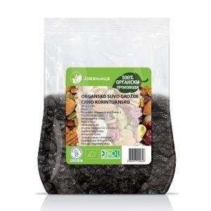 Organsko suvo groždje crno