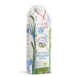 Organsko Dugotrajno Mleko