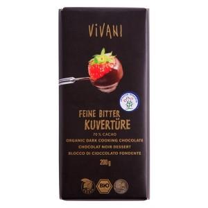 Organska čokolada za kuvanje Vivani - 200g