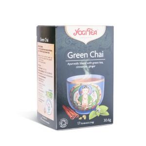 Organski zeleni čaj (Yogi tea) - 30,6g