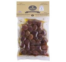 Organske crne masline u ulju  - 250g