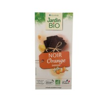 Organska crna čokolada pomorandža - 100g
