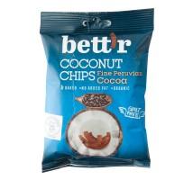 Organski čips od kokosa kakao 40g