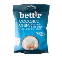 Organski čips od kokosa slani 40g