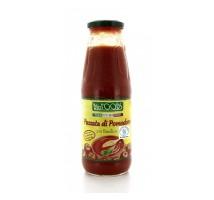 Organski paradajz za kuvanje sa bosiljkom - 680g