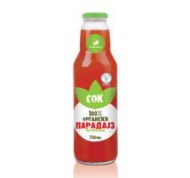 Organski sok od paradajza - 0,75l