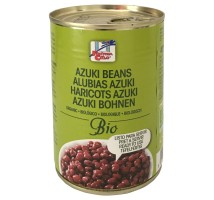 Organic azouki bean can - 400g
