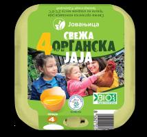 Organic eggs 4/1